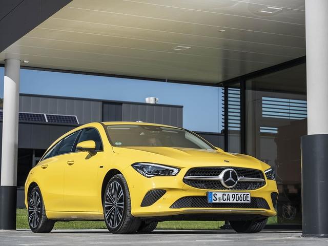 Mercedes CLA 250 e Shooting Brake - Stromesse oblige