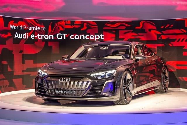 Audi E-Tron GT - Zittern in Zuffenhausen