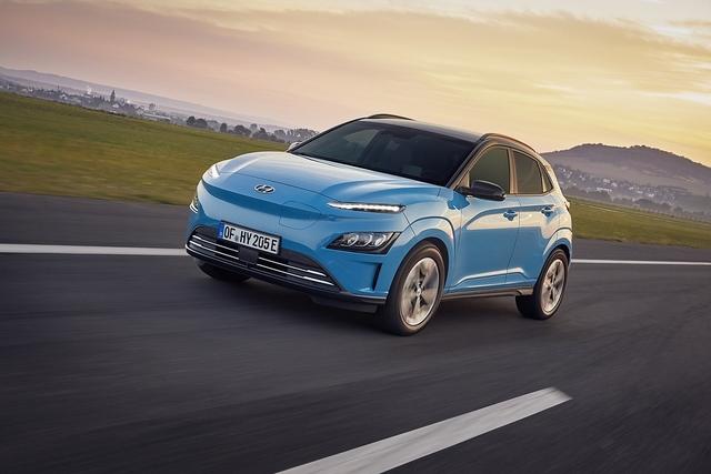 Hyundai Kona Electric 2021 - Nasenbär