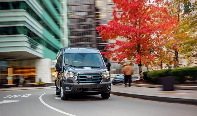 Ford E-Transit - The American E-Way