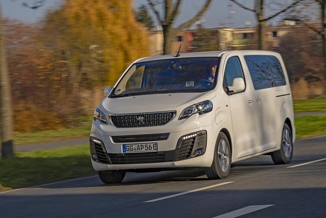 Peugeot e-Traveller 50 kWh - Stadt-Reisender