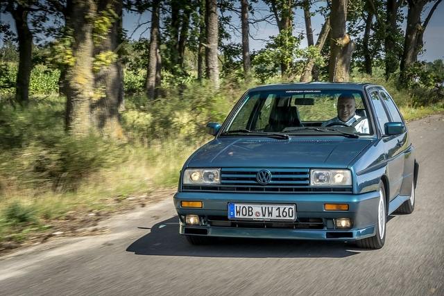 VW Golf II Rallye G60 - Dicke Backen
