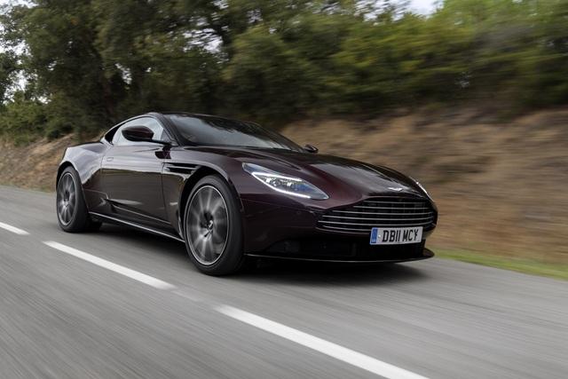 Test: Aston Martin DB 11 Coupé V8 - Jenseits von James