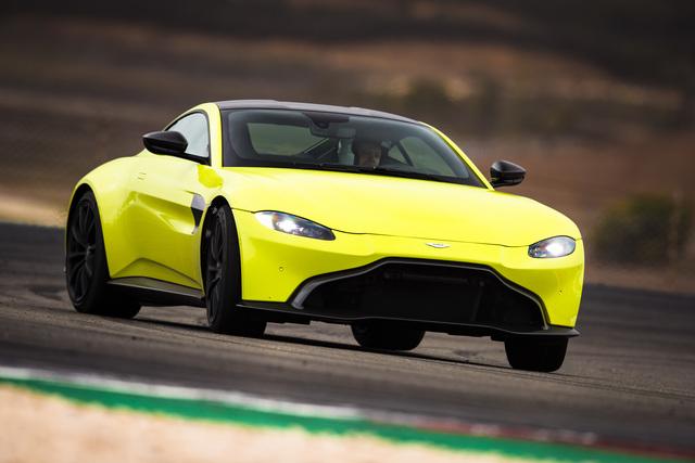 Aston Martin Vantage - Englands Antwort auf den Elfer