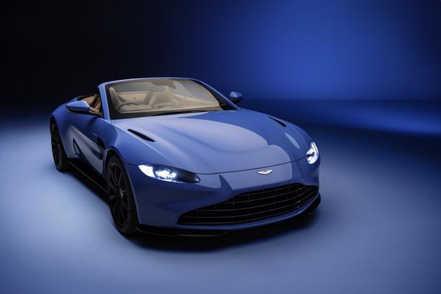 Aston Martin Vantage V8 Roadster - Windiger Typ