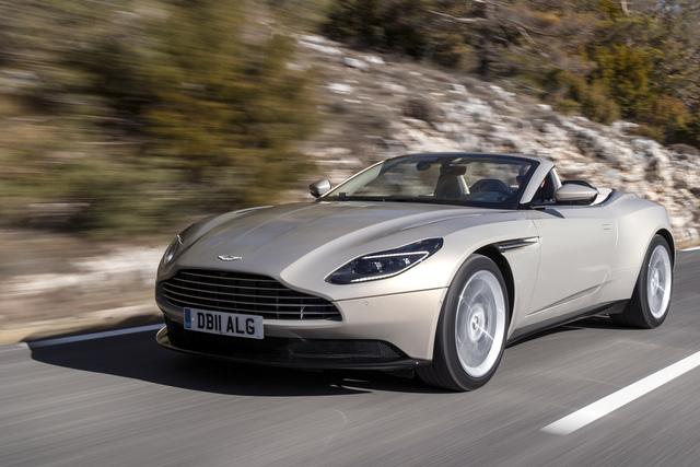 Test: Aston Martin DB 11 Volante - Echt schön