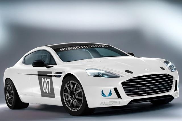 aston martin hybrid rapide s - es soll dampfen - autoplenum.de