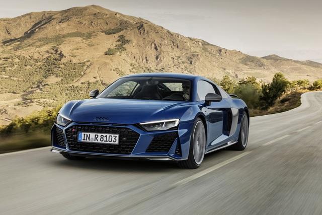 Audi R8 Facelift - Das Hubraummonster bleibt