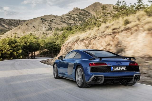 Audi R8  - Mehr Leistung und aufgefrischtes Design