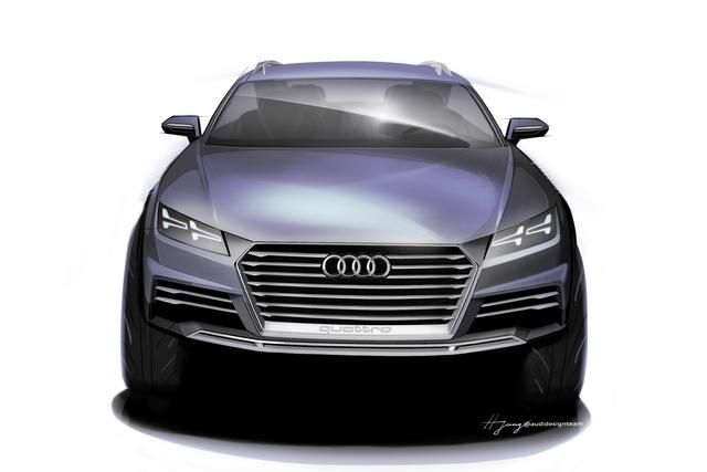 Audi Showcar für Detroit -  Ein bisschen TT