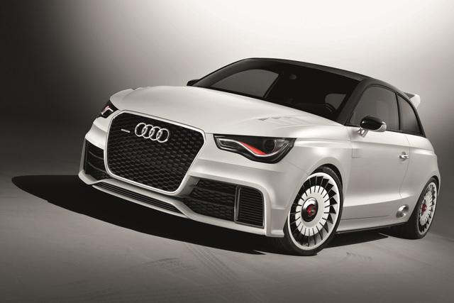 Audi A1 Clubsport Quattro - Blutäugiges Biest
