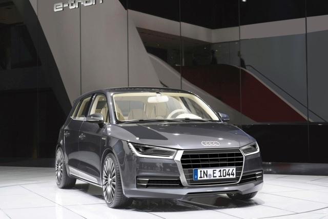 Audi-Sparmobil - Kleiner Plug-in-Hybrid ab 2017