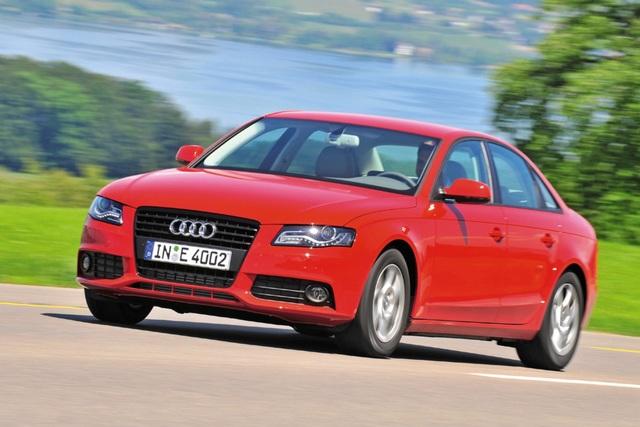 Audi A4 - Noch ein bisschen sparsamer