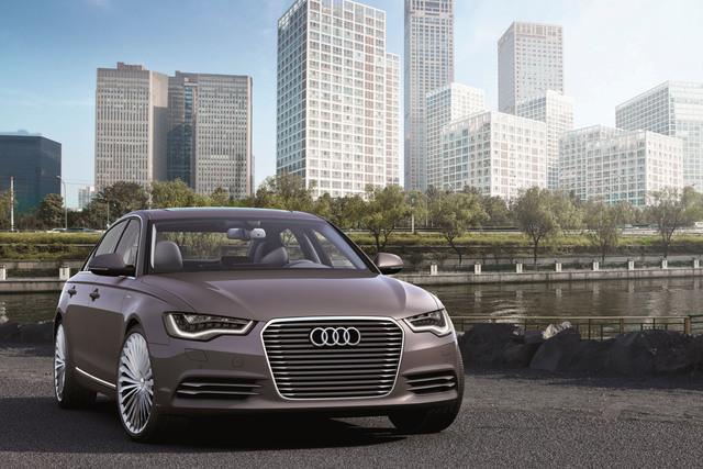 Audi A6 L e-tron - Lang und sauber