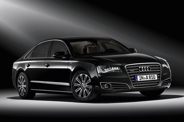 Audi A8 L Security - Harte Schale, harter Kern