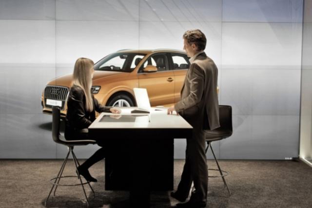 Audi City - Autokauf virtuell