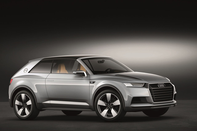 Audi Crosslane Coupe - Der Muster Q