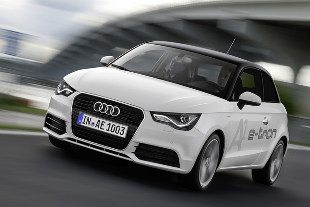 Audi A1 e-tron - Schick stromern