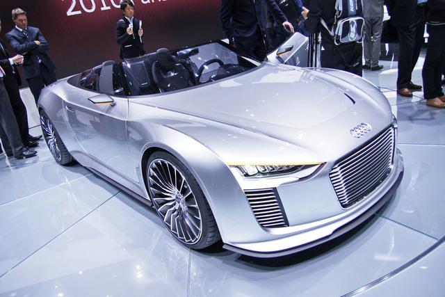 Audi e-tron Spyder - Rein elektrisch reicht nicht mehr