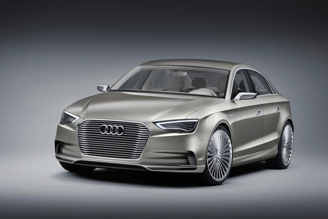 Audi A3 e-tron concept - Plugin-Hybrid für die elektrische Zukunft