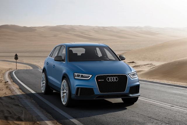 Audi Q3 Concept - Hoch und schnell