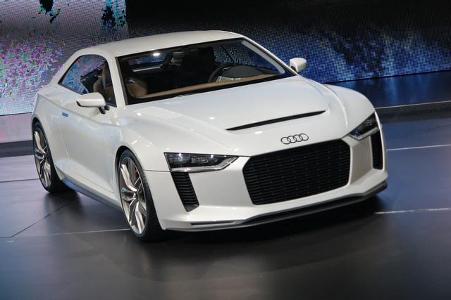 Audi Quattro Concept - Leicht und leistungsstark