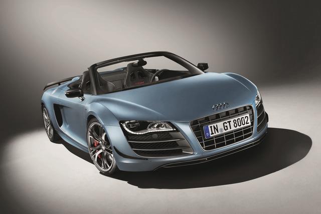 Audi R8 GT Spyder - Leicht aufgerüstet
