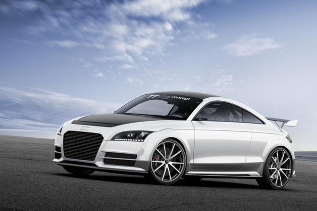 Audi TT Ultra Quattro Concept - Extrem-Diät am Wörthersee