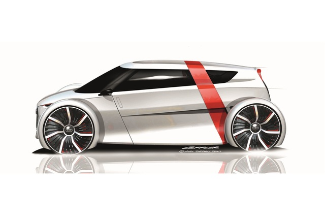 Audi Urban Concept - Der Kabinenroller kommt zurück