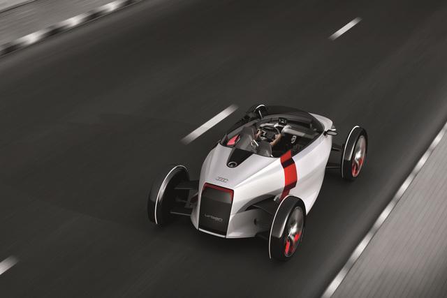 Audi Urban Concept Spyder - Sonnenbad in der Stadt