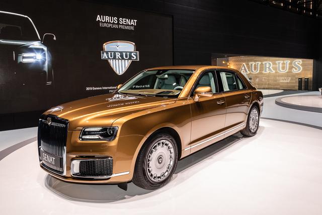 Panorama: Luxushersteller Aurus  - So rollt der Rubel