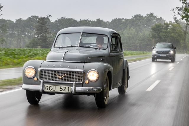 Volvo alt gegen neu  - Medel-Svensson im Münsterland