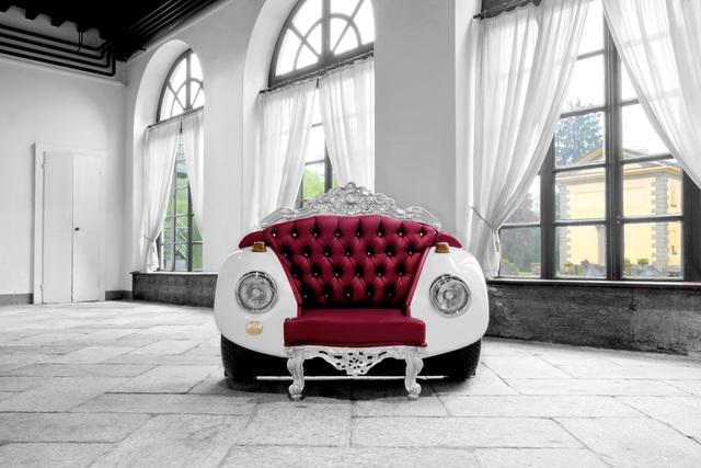 Wenn aus dem Auto Möbel werden - Der Käfer im Schlafzimmer