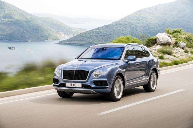 Fahrbericht: Bentley Bentayga als Selbstzünder - Der Dicke und der Diesel