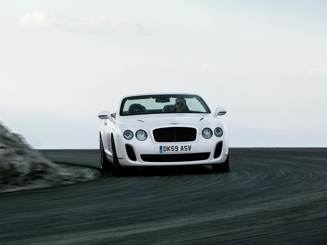Bentley Continental Supersports Convertible: Das schnellste viersitzige Cabrio der Welt
