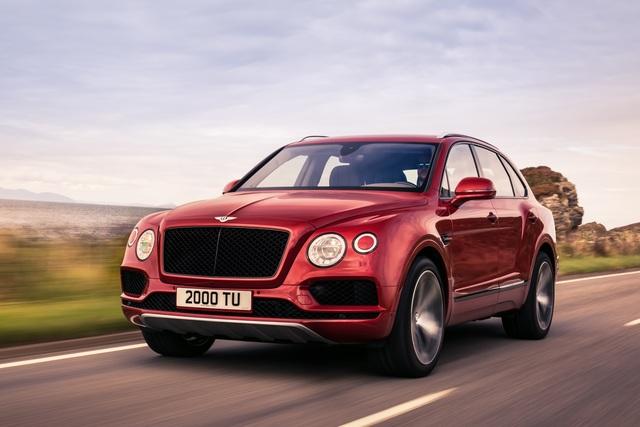 Bentley Bentayga V8 - Der Brite mit den größten Bremsen