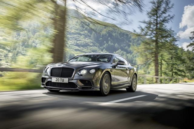 Bentley Continental Supersports - Die Wuchtbrumme