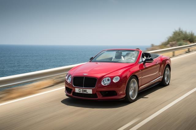 Bentley Continental GT V8 S - Mehr Sport für das Luxus-Coupé