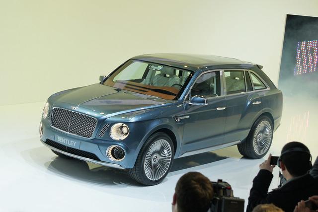 Bentley EXP 9F - Völlig unbescheiden