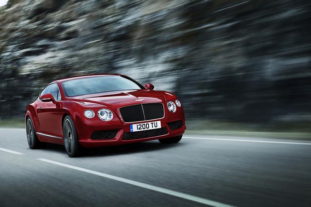 Bentley Continental V8 - Britische Bescheidenheit