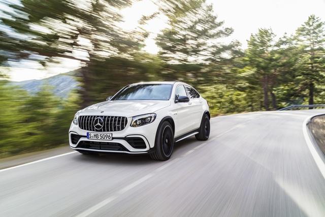 Mercedes-AMG GLC 63 - Mehr Power für das Mittelklasse-SUV