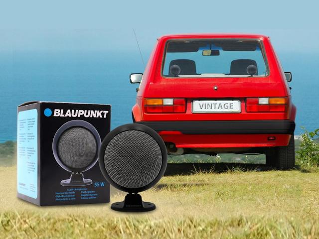 Blaupunkt legt Retro-Lautsprecher wieder auf - Comeback der Kultkugeln