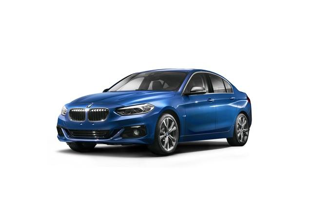 BMW 1er-Stufenheck mit Frontantrieb - Für China – und bald auch für Europa