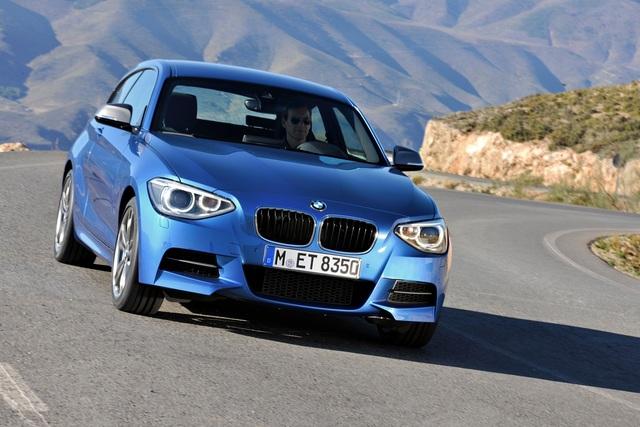BMW 1er Dreitürer - Orientierung nach oben