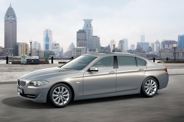 BMW: Langversion des 5ers für China