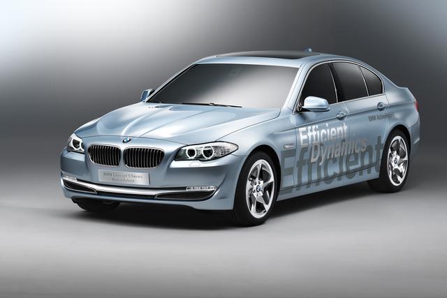 BMW entwickelt Hybridantrieb weiter