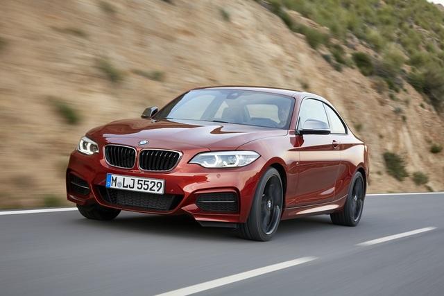 BMW 2er Facelift - Neuer Look für Coupé und Cabrio