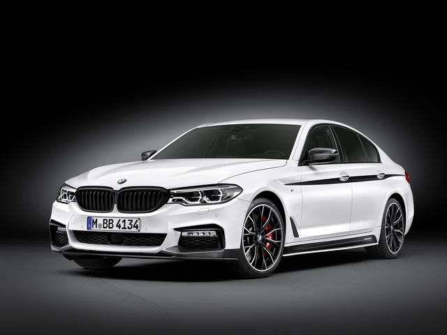 BMW 5er M Performance - Scharfes Vorspiel
