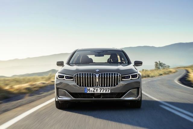 Facelift BMW 7er - Der Grill-Gigant