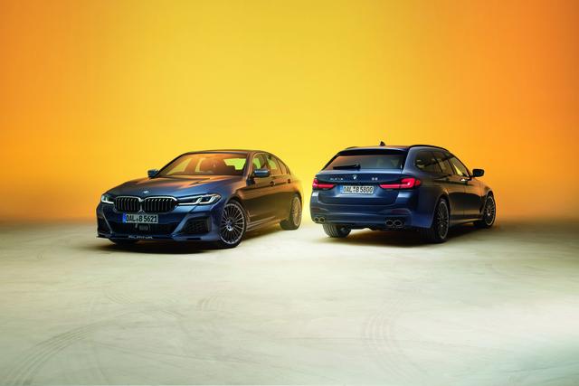 BMW Alpina: Facelift für B5 und D5 S - Neue Optik, mehr Power